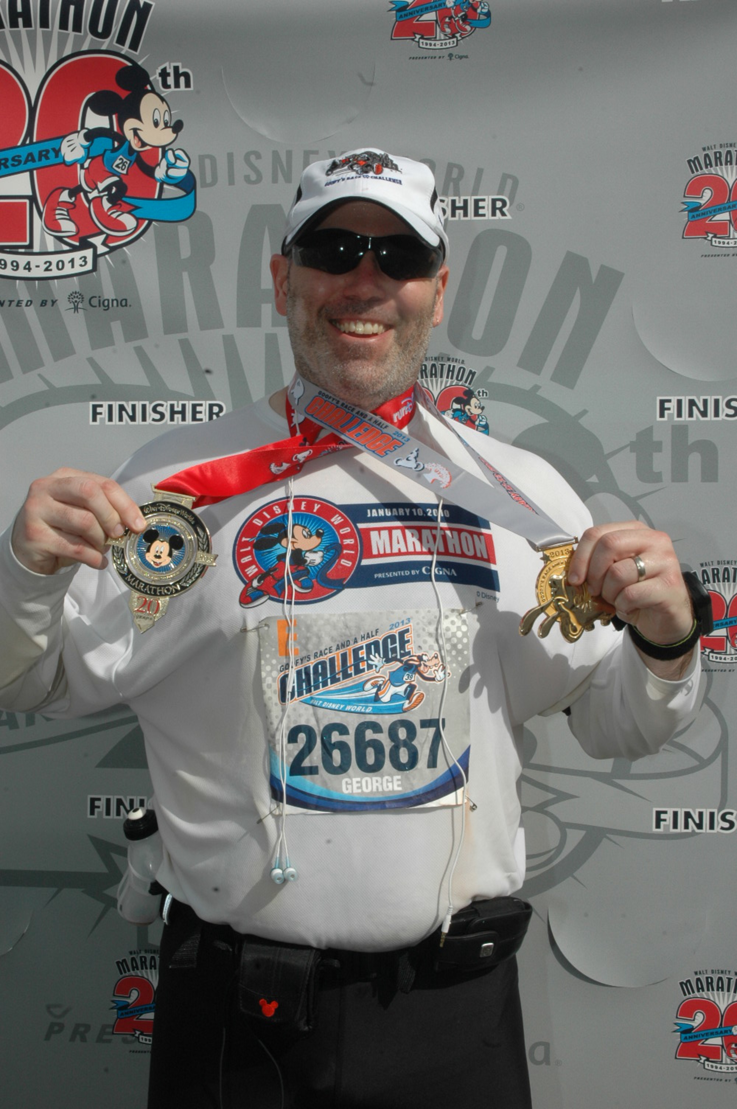 2013 Disney World Marathon - completed