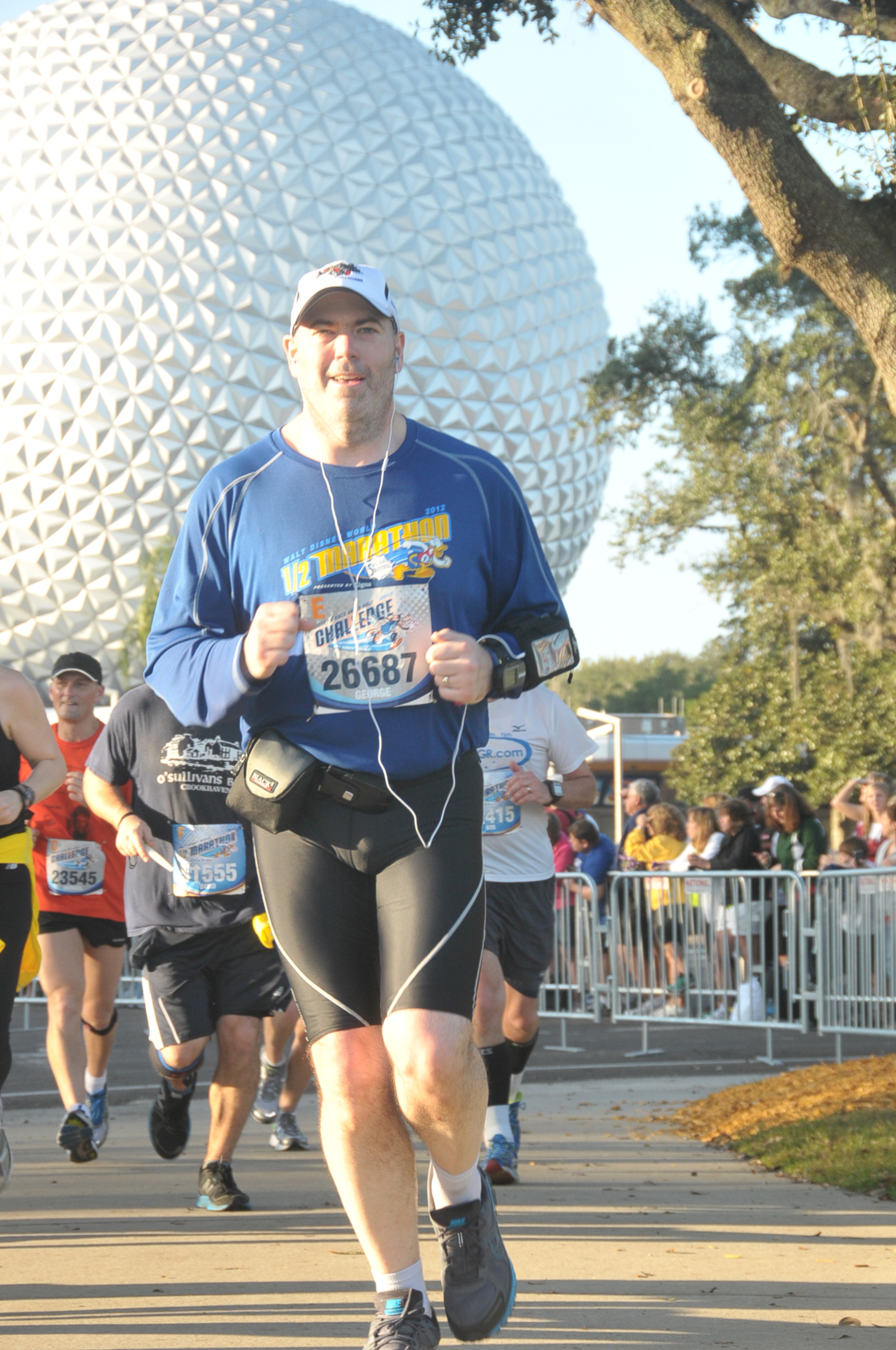 2013 Disney World Half Marathon - finish 01