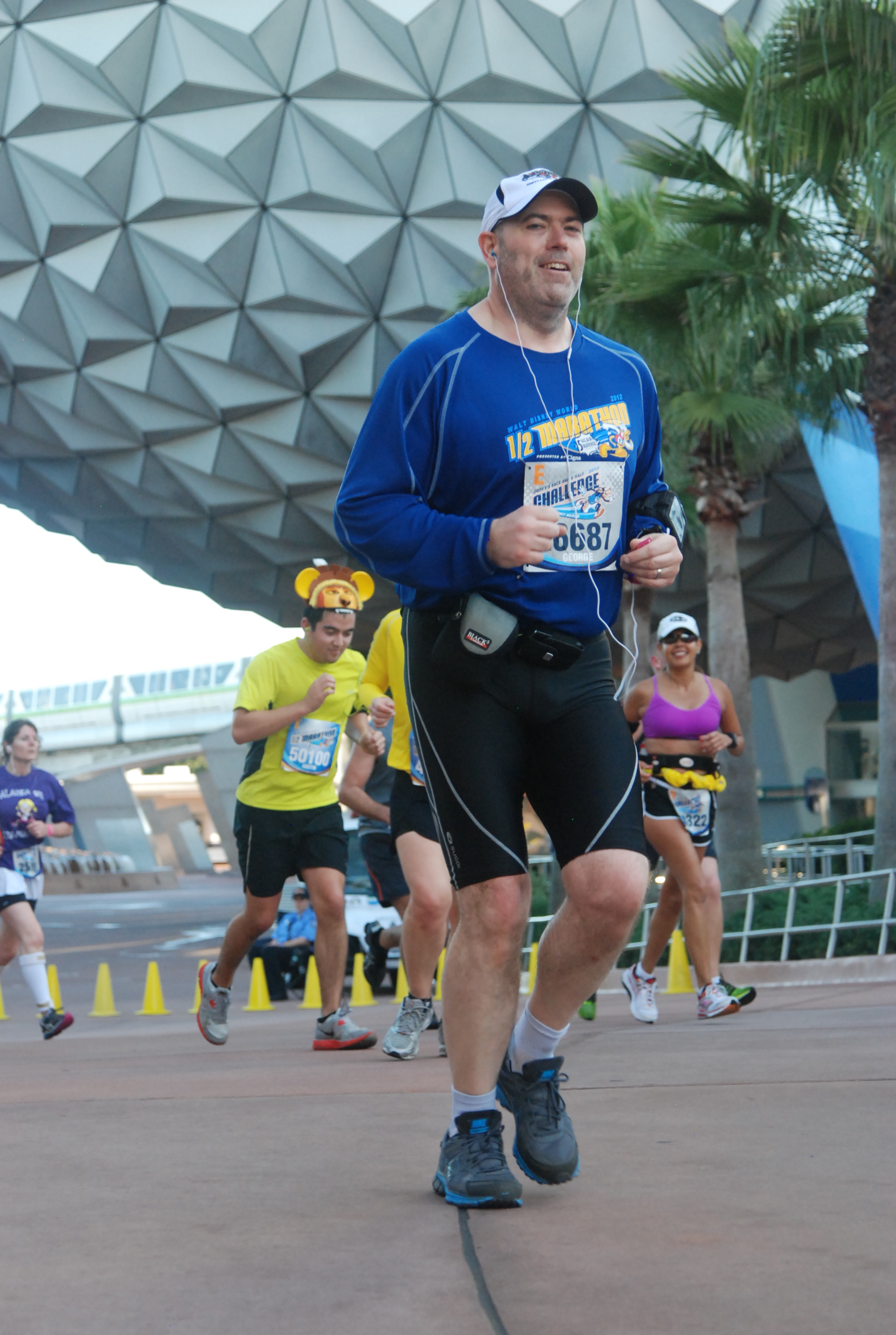 2013 Disney World Half Marathon - Epcot