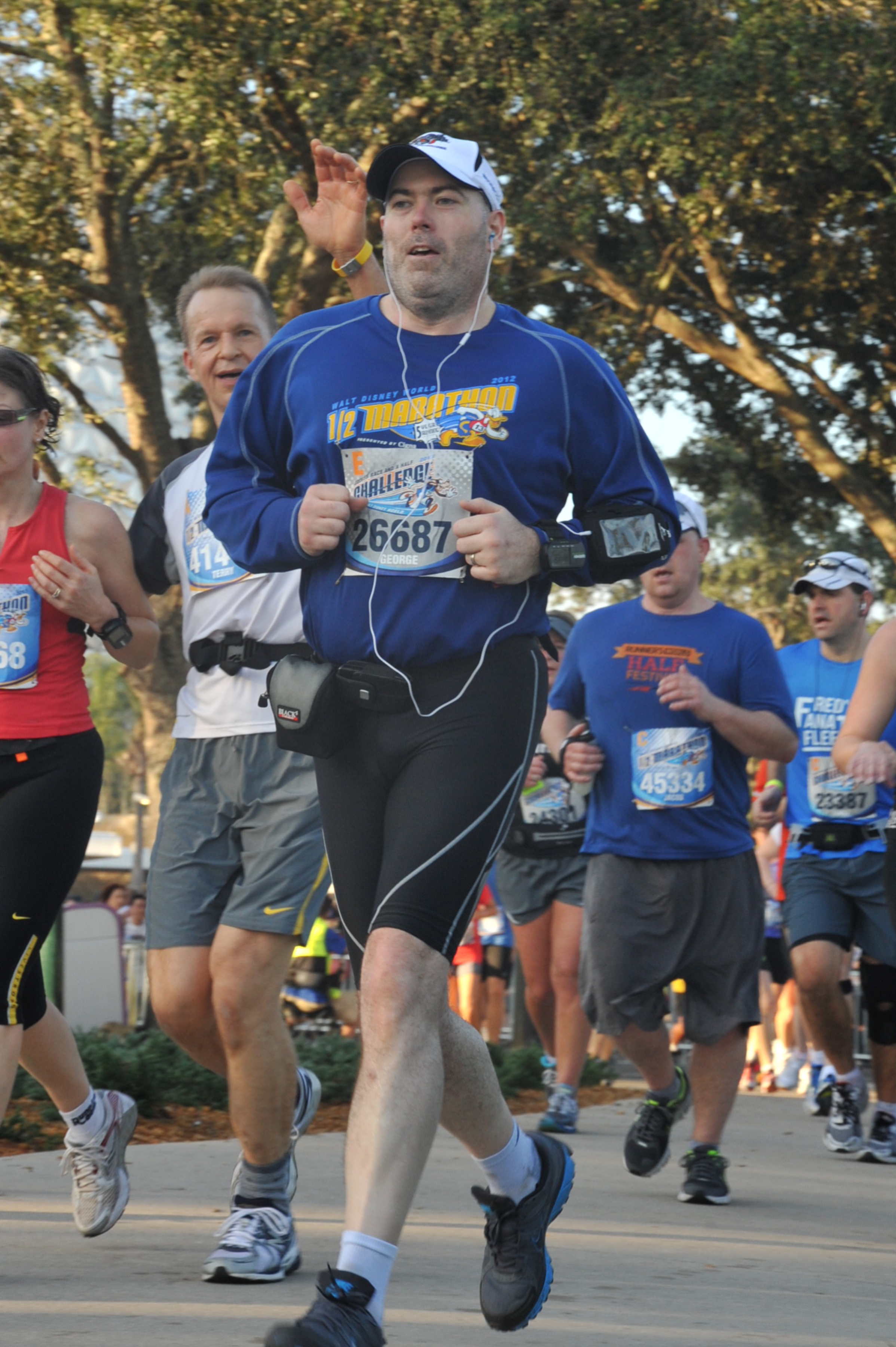 2013 Disney World Half Marathon - finish 03