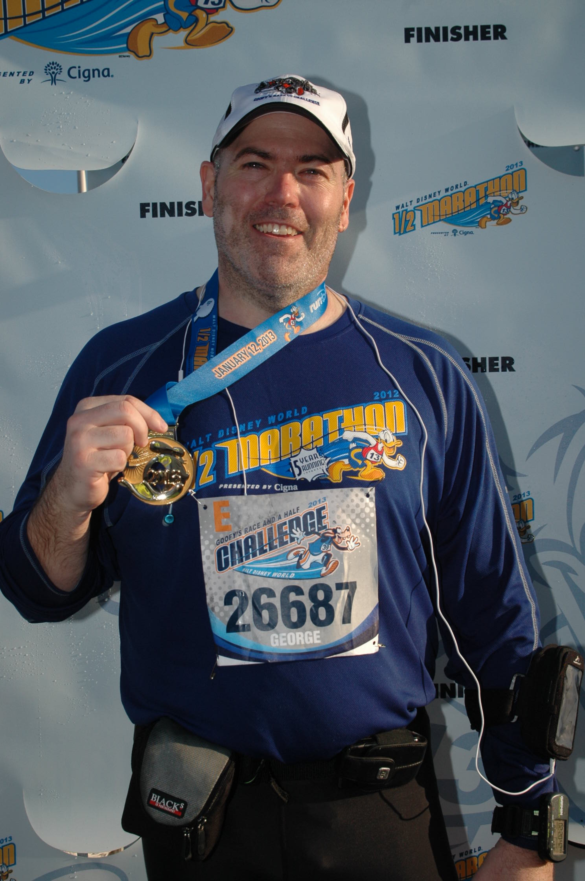 2013 Disney World Half Marathon - completed