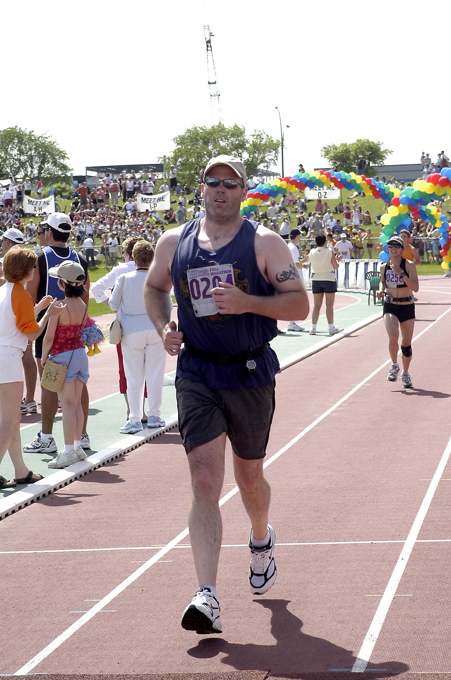 Manitoba Marathon 2005 - finish
