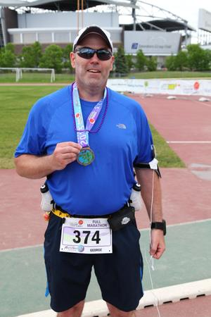 Manitoba Marathon 2013 - completed