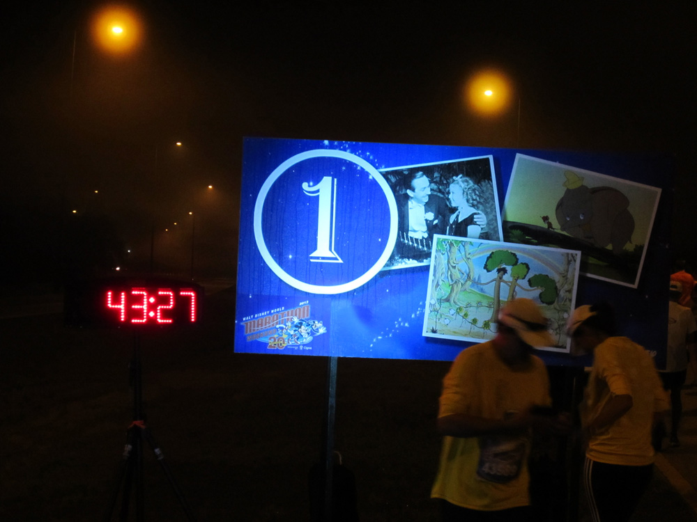 the sweating mile marker
