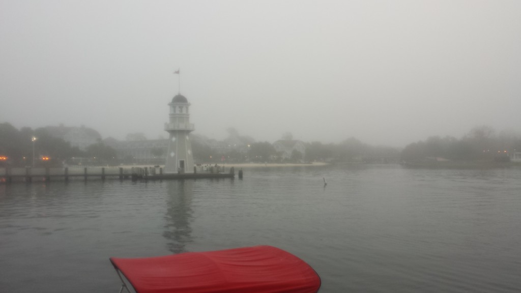 Beach Club - foggy morning run
