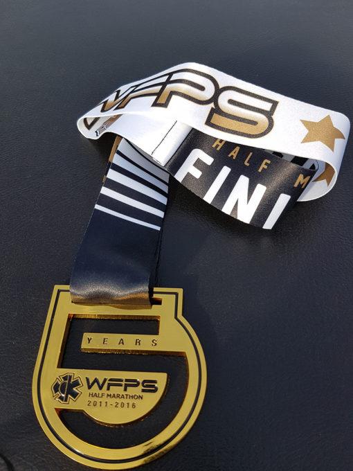 WFPS Half Marathon 5th Anniversary medal